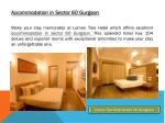 Accommodation in Sector 60 Gurgaon