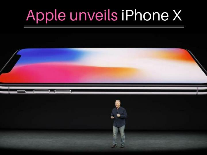 Apple unveils iPhone X with Super Retina Display
