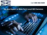 We Are Expert In New York Local SEO Services