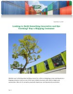 Looking to Build Something Innovative and Eye Catching? Buy a Shipping Container