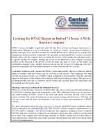 Looking for HVAC Repair in Buford? Choose A Well-Known Company