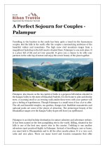 A Perfect Sojourn for Couples - Palampur