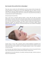 Best Cosmetic Clinic and Skin Clinic In Ahmedabad