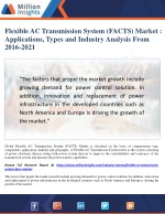 Flexible AC Transmission System (FACTS) Market Size, Industry Chain Analysis Report 2021