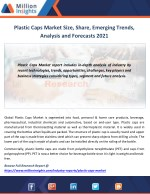 Plastic Caps Market to 2021 Industry Size, Share, Revenue Analysis