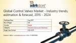 Global Control Valves Market - Industry trends, estimation & forecast, 2015 - 2024