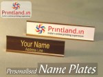 Engraved name plates-Buy personalized name plates online in India