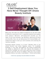 3 Self Employment Ideas You Have Never Thought Off