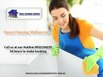 House Cleaning Melbourne - Local Cleaning Services