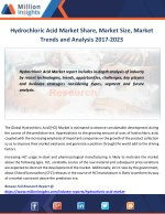 Hydrochloric Acid Market Analysis of Sales, Revenue, Share and Growth Rate 2017-2023