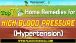 Top 7 Home Remedies for High Blood Pressure (Hypertension)