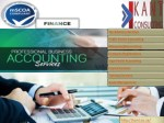 Accounting and bookkeeping services | Accounting services