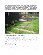 4 Tips for Late Summer Lawn Care