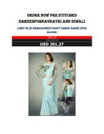 Order Now Pre Stitched Sarees For Navratri And Diwali
