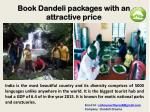 Book Dandeli packages with an attractive price