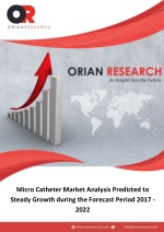 Micro Catheter Market Analysis Predicted to Steady Growth during the Forecast Period 2017-2022