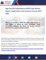 High Density Polyethylene (HDPE) Pipe Market Drivers, challenges, Growth Rate and Market Specification Forecast by 2016