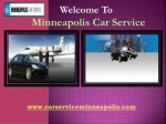 Group transportation Service in Minneapolis