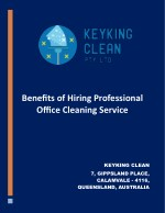 Benefits of Office Cleaning Service