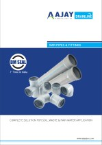 Ajay drainline catalogue swr pipes and fittings - sewage pipes and fittings - ajaypipes