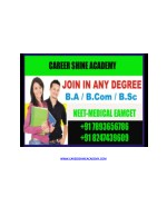 One Sitting Graduation in Hyderabad | NEET EAMCET Coaching in Hyderabad : Career Shine Academy