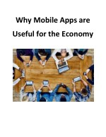 Why Mobile Apps are Useful for the Economy