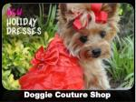 Doggie Couture Shop: Online Shop for Designer Small Dog Clothes