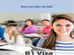 Interested in a B1 or B2 visa? Speak with our attorney today.
