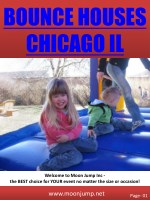Bounce Houses Chicago IL