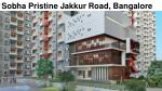 Sobha Pristine Coming soon Project in Bangalore