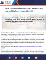 Road Paver Market Manufacturers, Manufacturing cost and Challenges Forecast by 2021