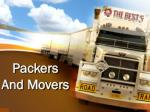 Packers and movers in Chandigarh and Panchkula