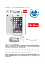 Apple iPhone 5 – Find Best Deals on Refurbished and Used iPhones