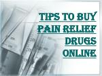 Things you Must Take Care of While Buying Drugs Online