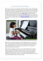 Best Piano Teacher in Singapore For Kids & Adults