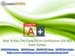 Get Real Exam Question And Answers For CompTIA 220-902