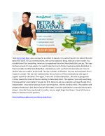 Detox Body Blast-Best Supplement To Weight Lose