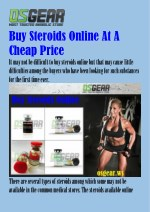 Buy Steroids Online At A Cheap Price