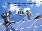 Unveiling the perks of leasing solar panels