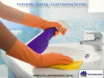 Fortnightly Cleaning - Local Cleaning Services