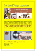 Get 24 Hour Expert Locksmith Services in Tampa