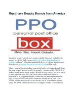 shipping charges from usa to india | PPOBox(Personal Post Office)