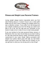 Best Fitness services in Fitzroy