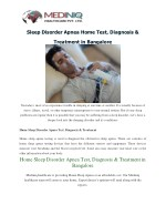 Sleep Apnea Test