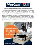 Use CNC Waterjet Sales Australasia for Precision Cutting