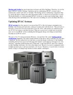 IMPORTANCE OF EFFICIENT HVAC SYSTEMS