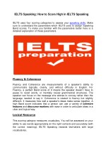 IELTS Speaking: How to Score High in IELTS Speaking