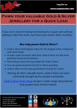 Get a Quick Loan from Gold & Silver Pawn Shop at USA Pawn