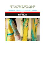 Get Latest Net Saree Diwali Collection