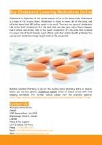 Buy Cholesterol Lowering Medications Online